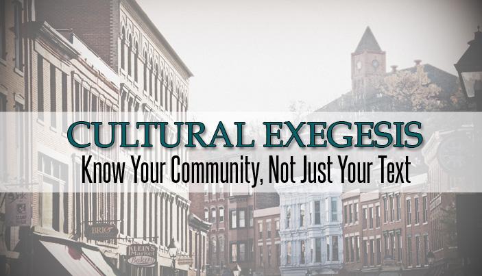 cultural exegesis