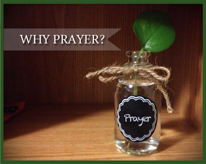 why prayer