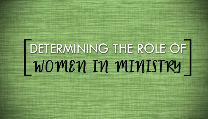 two views on women in ministry Women in ancient christianity: the roman governor pliny tells of two slave women he tortured who were deacons study of works by and about women is making it possible to begin to reconstruct some of the theological views of early christian women.