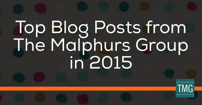 Top Blog Posts from The Malphurs Group in 2015