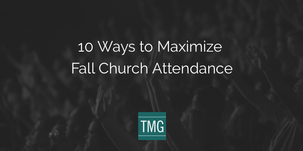 fall church attendance